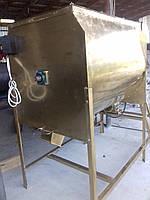 Змішувач горизонтальный для кормів 500л. 3 кВт Міссі