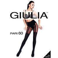 "Капроновые колготки""Giulia"" с имитацией чулка PARI 60(18)"
