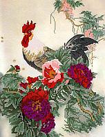Схема для вышивки бисером POINT ART Символ достатка, размер 24х36 см