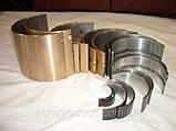 Вкладиш підшипника верхній (перший ремонтний розмір) Н251-2-5Р1, фото 4