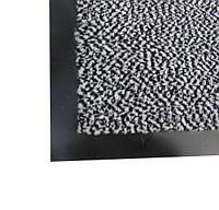 Полипропиленовый грязезещитный  коврик 40*60, серый. 1022527