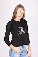 Молодежная кофта черного цветаШанель соврвеменного пошива
