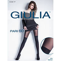 "Капроновые колготки""Giulia"" с имитацией чулка PARI 60(17)"