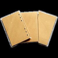 Блок сменных листов для блокнота (крафт) 80 листов