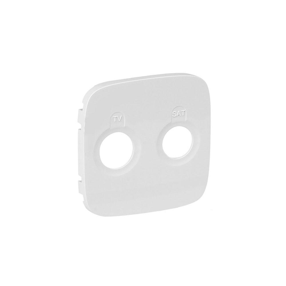 Лицевая панель розетки TV-SAT Valena ALLURE белый
