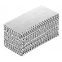 Бумажные полотенца Z серые 200шт/уп