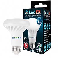 Светодиодная лампа LEDEX Premium 7W E27 R63 665lm 120º AC85-265V 4000К чип Epistar
