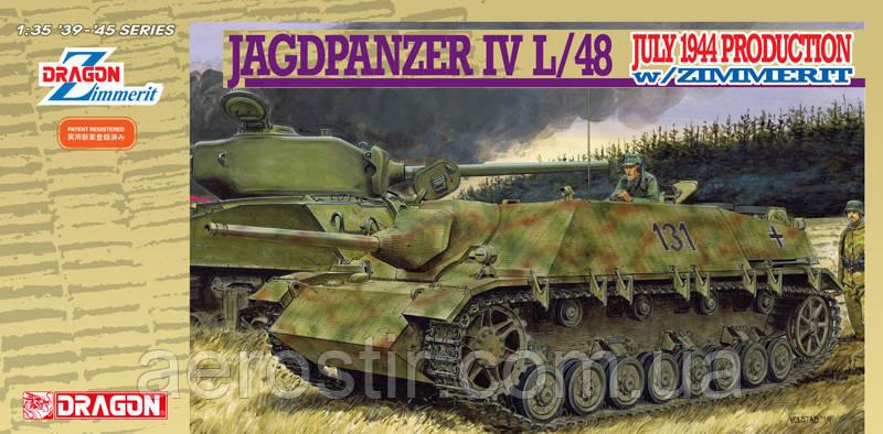 Jagdpanzer IVL/48 July1944 Production w/Zimmerit 1/35 DRAGON 6369