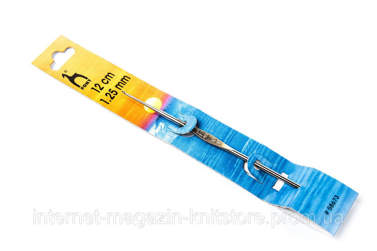 Крючок Pony | без ручки | 12 см | 1.25 мм
