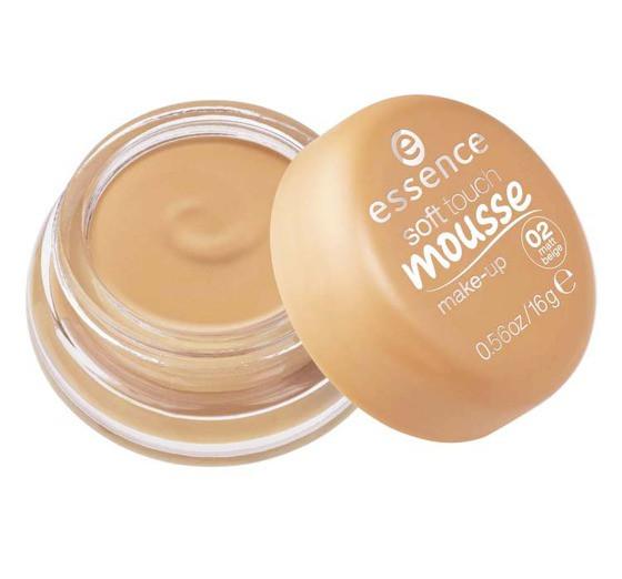 Матирующий тональный мусс Essence Soft Touch Mousse Makeup - 02 matt beige
