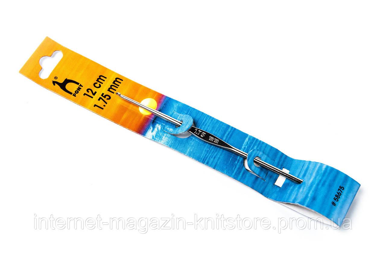 Крючок Pony | 12 см | 1.75 мм без ручки