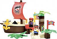 """Конструктор Ecoiffier """"Сокровищница пиратов"""", 34 элем. (003179)"""