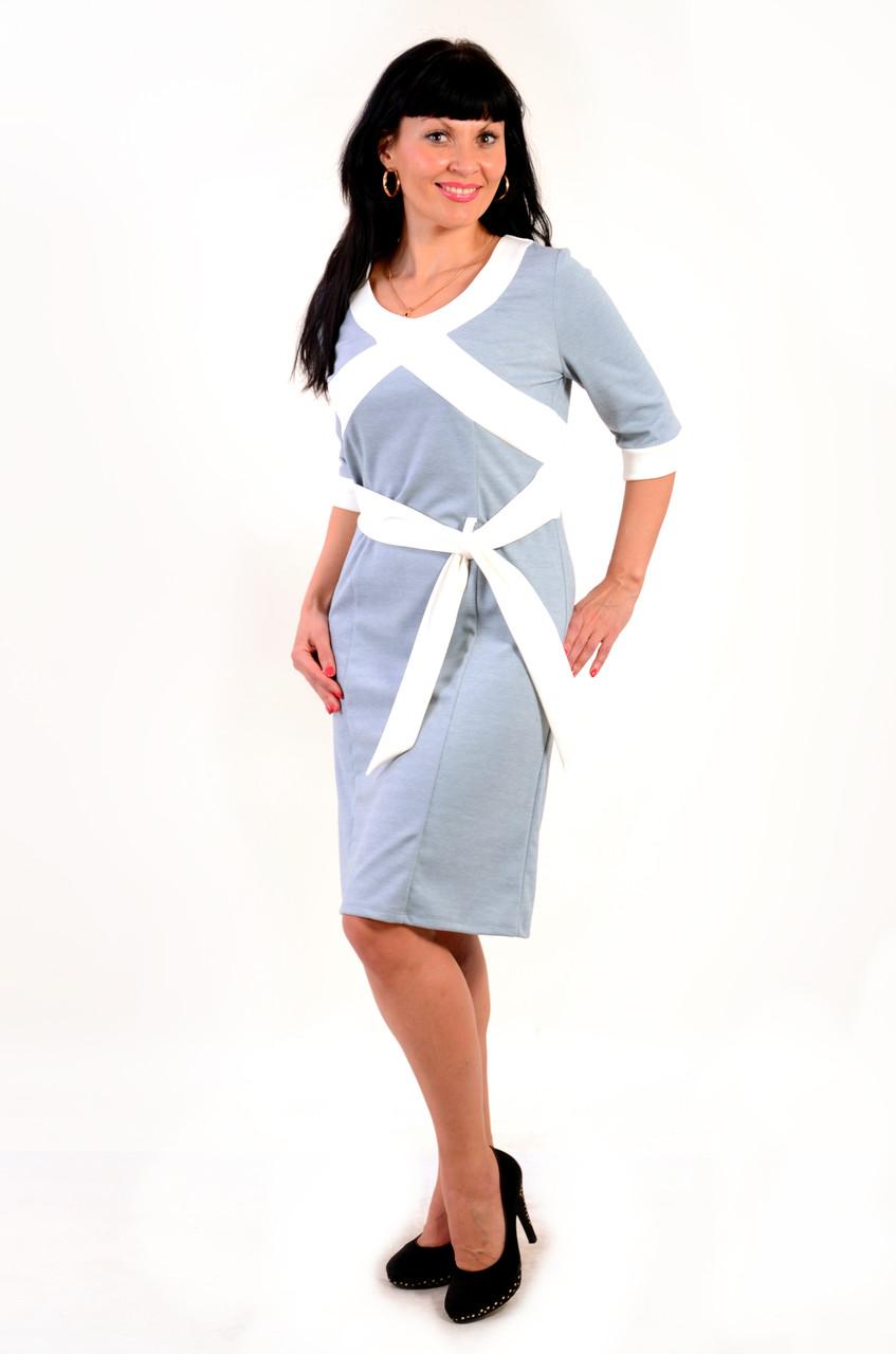 Платье трикотажное ,большие размеры, ПЛ 774551, платье молодежное , джерси ., фото 1