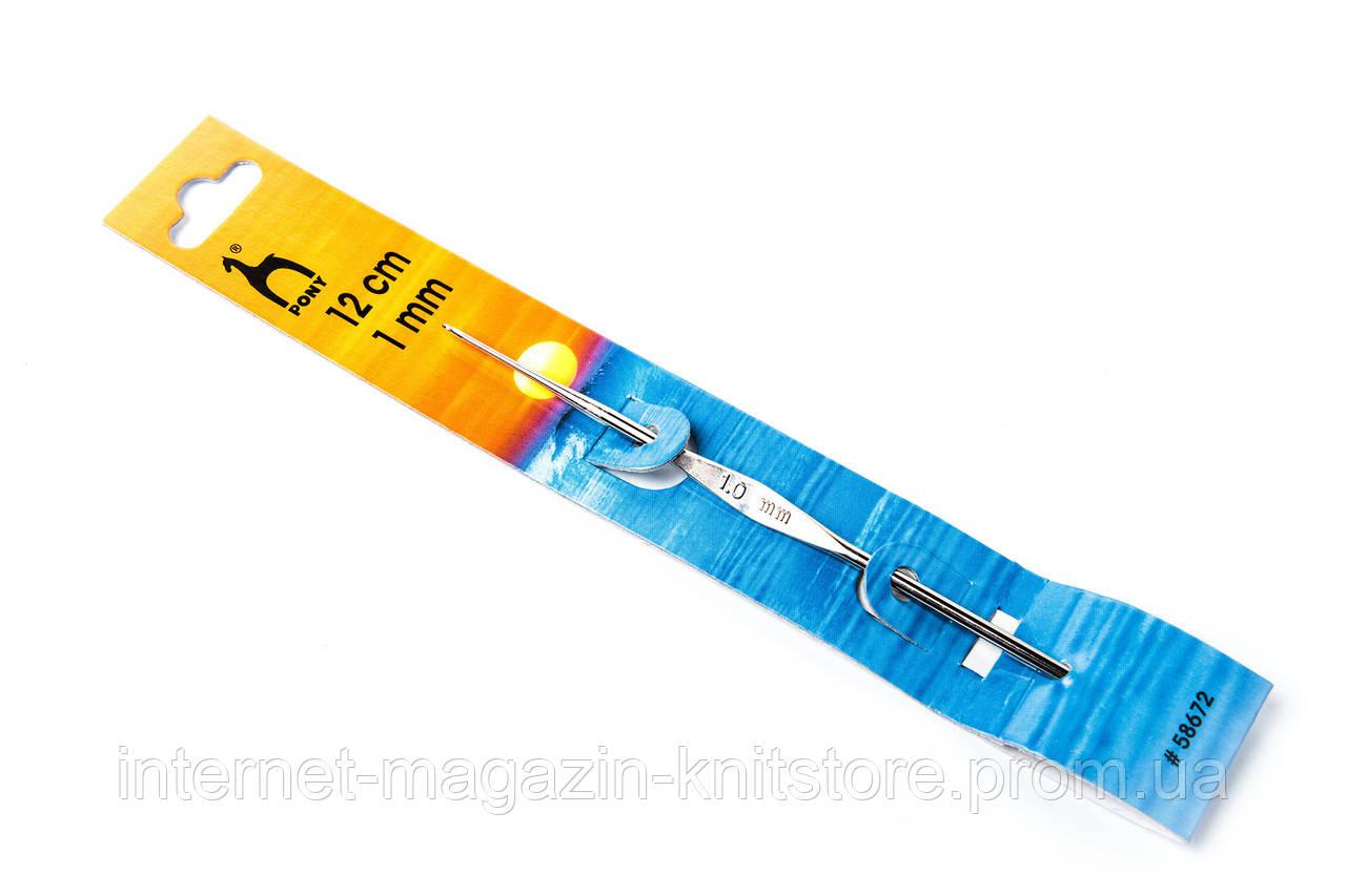 Крючок Pony | 12 см | 1 мм | без ручки