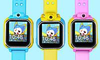 Детские GPS  часы-телефон Smart wacth Q200 на Android, с 3G