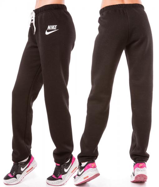 32167b86 Купить ТЕПЛЫЕ спортивные штаны женские зимние на флисе прямые черные ...