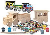 Набор для творчества Masterpieces Поезд (21417)