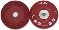 Оправка 3М™ 64862 для фибр. дисков гладка, красная  180*22