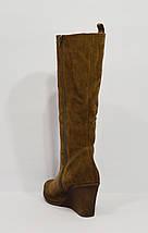 Замшевые коричневые сапоги Sensa 1125, фото 3