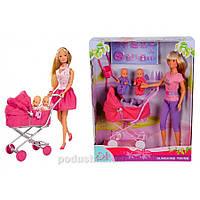 Кукольный набор Штеффи с коляской Steffi Evi Love 5738060