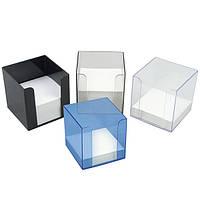 Куб для бумаги черный