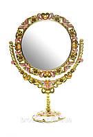 Зеркальце косметическое со стразами