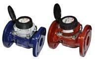 Промышленные счетчики воды на горячую воду WP-Dynamic 50/150