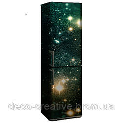 Наклейка на холодильник вселенная