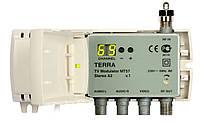 Модулятор телевизионный  Terra MT-57 (МВ-ДМВ, стерео А2)