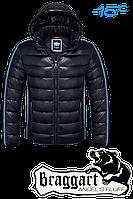 "NEW! Куртка зимняя мужская, пуховик Braggart ""Angel's fluff"" 1185 (черный), р.S, M, L, XL, XXL"