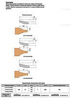 Фреза для обработки филенки 200х32х28