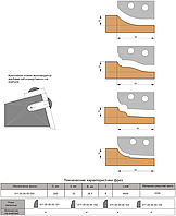 Фреза  для обработки филенки дверей