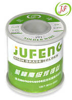 Припой JF-Solder 0.7mm, Sn63Pb37, 100гр