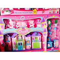 Игрушка кукольный домик, набор мебели, звуковые эффекты, пластик