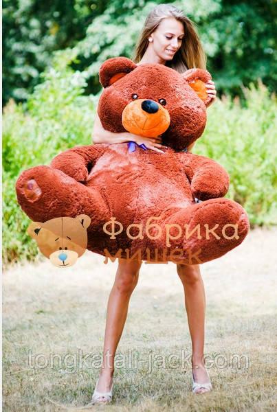 Большой плюшевый медведь продается здесь!  мегамишки