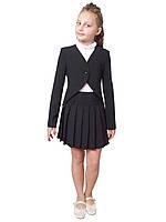 Жакет школьный для девочки м-1062  рост 128-158, фото 1