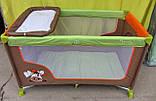 Манеж кровать с пеленальным столиком, фото 2