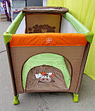 Манеж кровать с пеленальным столиком, фото 3