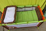 Манеж кровать с пеленальным столиком, фото 4