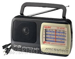Радіоприймач всехвильовий KB-408 220V