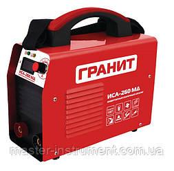 Сварочный инвертор Гранит ИСА-260 МД
