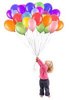 Гелиевые шары, фигуры из шаров, композиции из шаров
