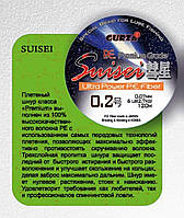 Шнур Gurza SUISEI 0,2/0,07 мм 120 м белый