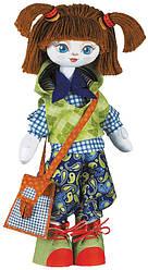 """Набор для шитья игрушки Текстильная кукла """"Отличница"""" К1003"""