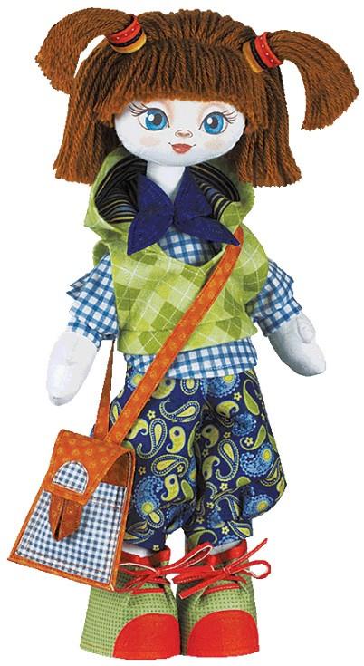 """Набор для шитья игрушки Текстильная кукла """"Отличница"""" К1003 - Elite Home в Херсонской области"""