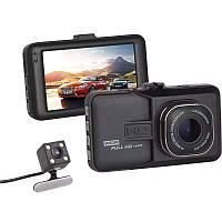 Видеорегистратор T629B Titan(2 камеры, Novatek 96650)