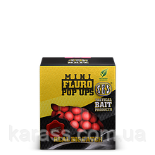 Бойлы плавающие SBS Mini Fluro Pop Ups 8mm Garlic