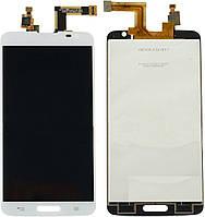 Дисплей (экран) для LG D680 G Pro Lite/D682 G Pro Lite + с сенсором (тачскрином) белый