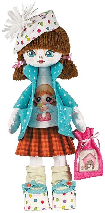 """Набор для шитья игрушки Текстильная кукла """"Именинница"""" К1006 - Elite Home в Херсонской области"""