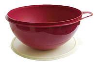 Салатник большой - Милиан 7,5 л с крышкой. Идеален для приготовления салатов, теста, маринования мяса.